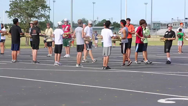 2012-13 CPHS Band Camp 08-06-12 Video Clips