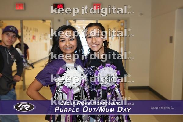 Cedar Ridge HC Purple Out _ Mum Day