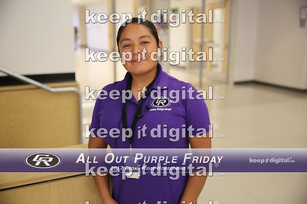 Homecoming 2017 - All out Purple Friday