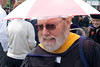 Some faculty wore academic regalia.