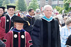 Rhode Island College's new President Nancy Carriuolo marched in with Governor Don Carcieri.