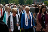 Alumnae and alumni from graduations long ago joined the procession.