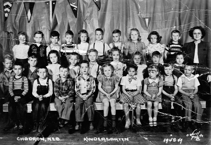 1948-49  East Ward Kindergarten
