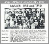 Assumption Academy Grades One and Two - 1952