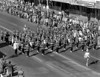 Chadron High School Marching Band invades Lincoln - 1958