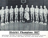 Chadron Assumption Academy Basketball Team - 1957