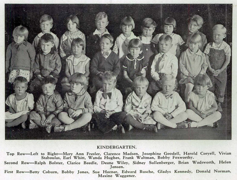 Click on the picture to get a closer look at these 1931 Kenwood kids!