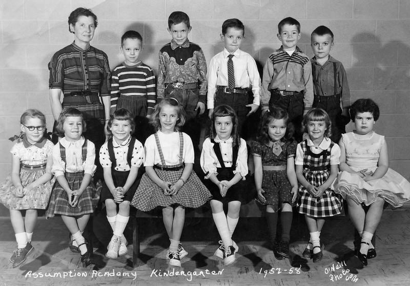 Assumption Academy Kindergarten (1957-58)