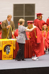 Alexandra graduates with Honors.