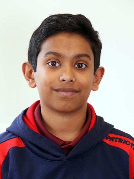 Combined Parker and McCarthy Middle Schools Knowledge Bowl team. Nithin Chandra, 13, 7th grade. (SUN/Julia Malakie)