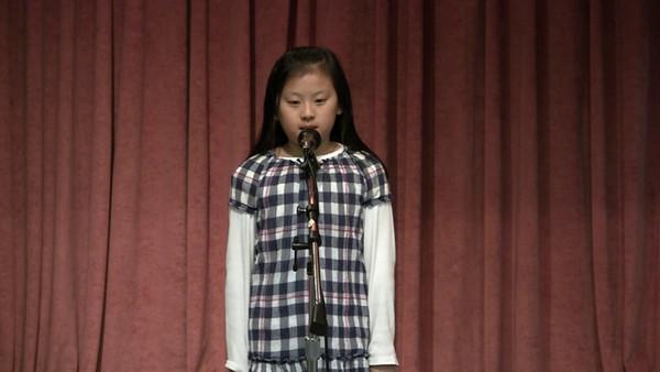 20100307 CSD Speech Contest 20 胡珮慈