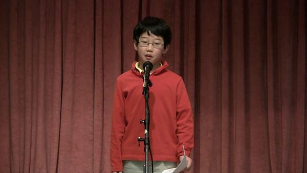 20100307 CSD Speech Contest 24 李俊宇