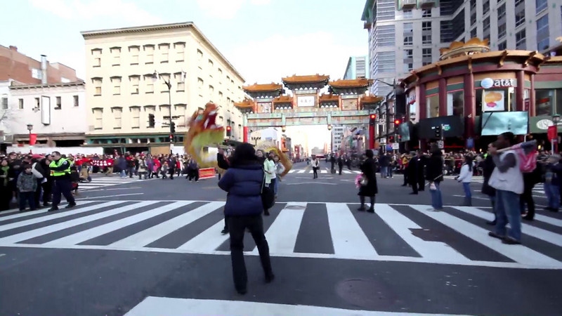 The CACC Folk Dance Troupe, with the Chinese School of Delaware, participated at the Chinese New Year Parade in Washington DC 2/6/2011