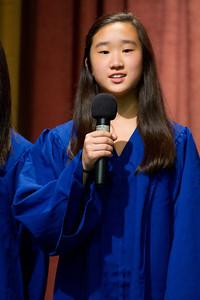 畢業生致詞 Graduate Speech  Chinese School of Delaware 2011 Commencement Ceremony, 6/5/2011