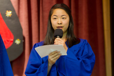 畢業生致詞 Graduate Speech  Chinese School of Delaware 2011 Commencement Ceremony, 6/5/2011