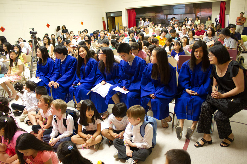 The Graduates  Chinese School of Delaware 2011 Commencement Ceremony, 6/5/2011