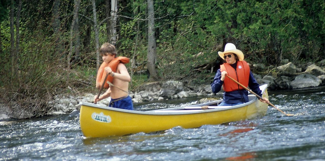 Kerry White in the back?  Mattawa River?