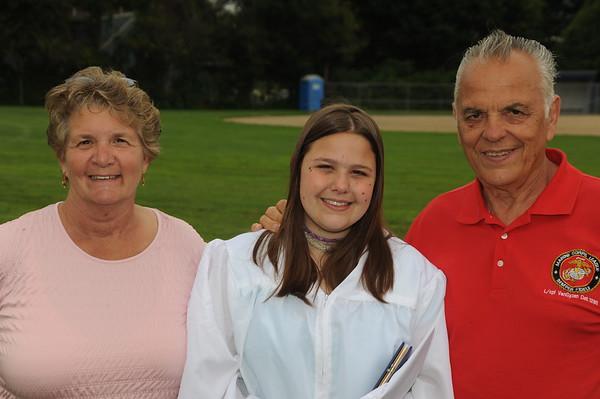 Chloe and Lauren's Graduation Day and Lauren's Graduation Party  6-14-09
