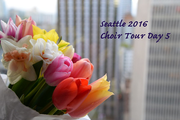 Seattle Tour Day Five