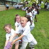 Debbie Wachter/NEWS<br /> The Thaddeus Stevens school carnival included a competitive tug of war game between classes.