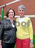 Rosa Lee Thomas and Joyce Compton at EAHS crop
