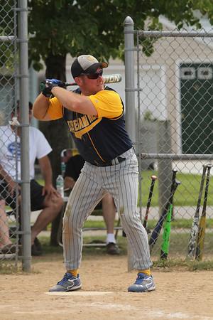 Cleve Hill  Fire Dept Baseball