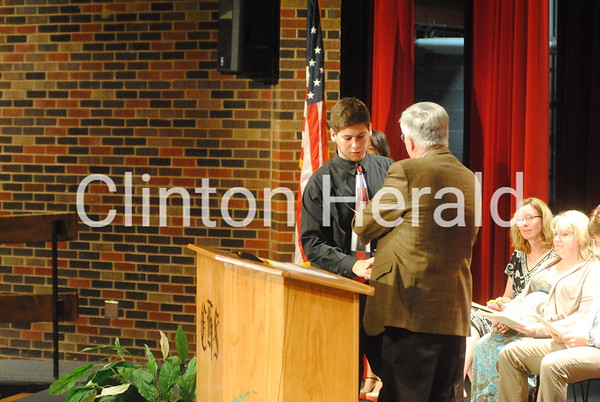 5-21-14 Clinton High Honors Convocation