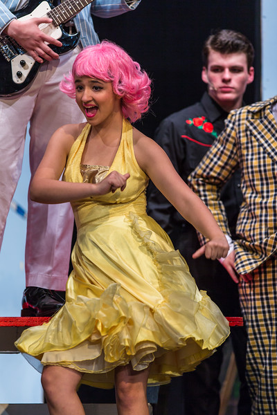 "Collins Hill High production of ""Grease"""