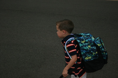 Cole's First day of School 8-20-12
