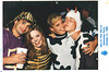 Delt Halloween party. Some cows come in for the pic