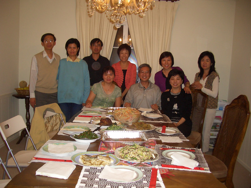 October 2005 at Philip Lee (李鴻祥) home at San Mateo, California