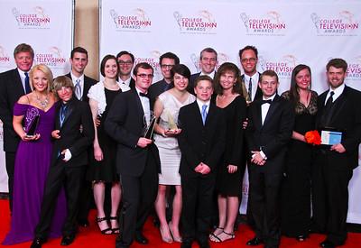 College TV Awards Ceremony - BYU 2012