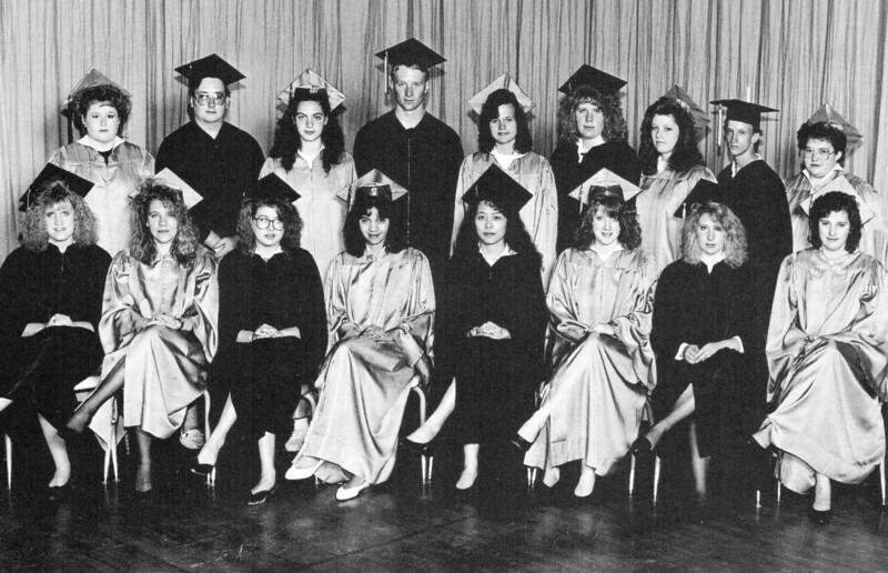 Crawford High School seniors of 1991