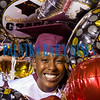 Ketura Chandler is surrounded by a mass of balloons brought by her family as she graduated from Crescent City High School. Fran Ruchalski/Palatka Daily News