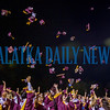 At the conclusion of the Crescent City High School graduation ceremonies, the seniors got together to launch their caps into the air to signify that they'd done it. Fran Ruchalski/Palatka Daily News