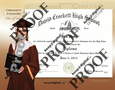 2014 Crockett Keedjit™ Diploma Proofs