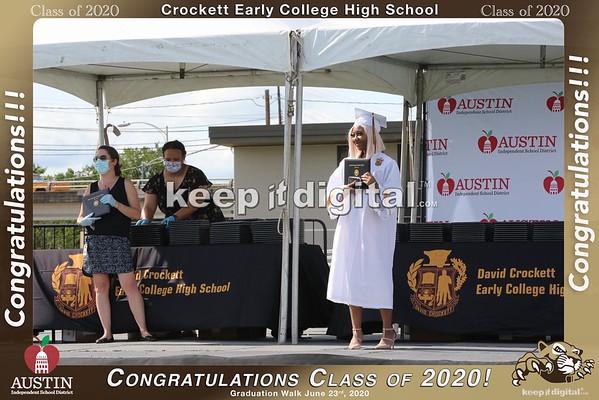 Crockett Grad Walk 2020