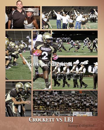 Crockett vs LBJ Football 10-13-11