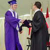 Timothy Bouchard receives his diploma from Headmaster Christopher Torino during the 141st commencement ceremony at Cushing Academy in Ashburnham on Saturday morning. SENTINEL & ENTERPRISE / Ashley Green