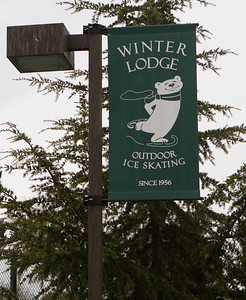 Winter Lodge in Palo Alto, CA is an has an outdoor rink and inside ice, where we plan to play broom hockey.