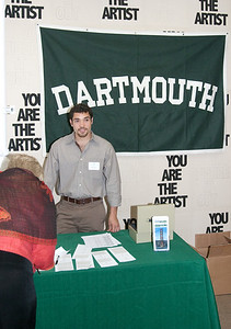 We were fortunate to have the participation of an actual Dartmouth student, a '10.