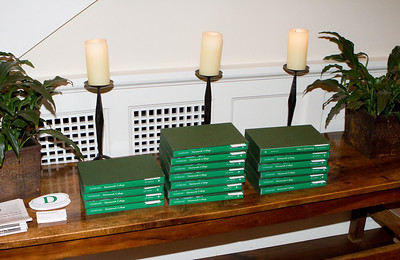 Some gifts were provided by the Dartmouth Parents and Grandparents fund, including books about Dartmouth College.