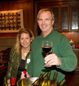 Cameron and Brent Bilger, both '80 P'11 P'13, welcomed the parents and guests