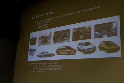 EV battery history