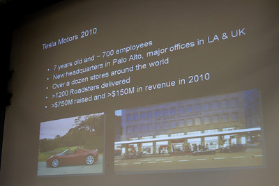 Tesla Motors history