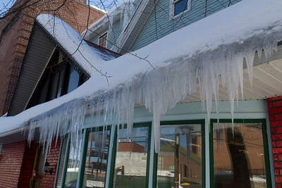 Lots of icicles around Hanover.