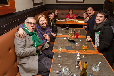 After arriving at Boston's Logan Airport, a significant part of the DAASV contingent filled their time before the Dartmouth Coach would arrive at Legal Sea Food's Terminal B bistro - getting fueled for the next hop.