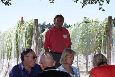 Jim was very informative, providing excellent insight into the wine-making business