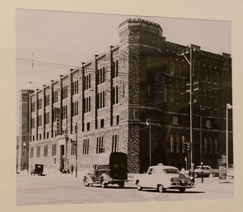 Completed in 1914, the National Guard Armory was used until 1978, then remained unoccupied until it was purchased by Armory Studios in 2007.  At over 200,000 square feet, it provides video production space.  The 40,000 square foot drill court is being turned into a community center.