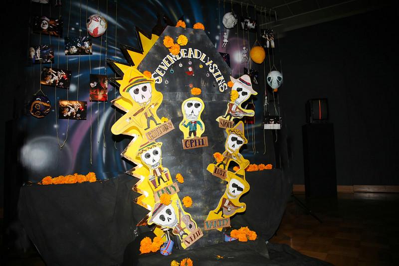 Seven Deadly Sins Installation--Santa Barbara Museum o Art